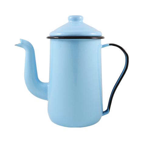 Bule Café Mãe Ágata Azul Claro
