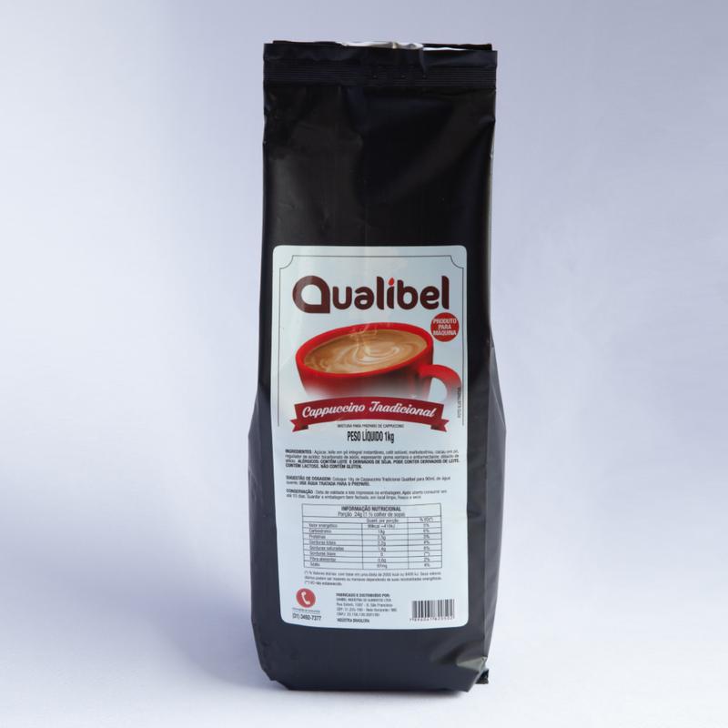 Qualibel - Cappuccino em Pó Tradicional