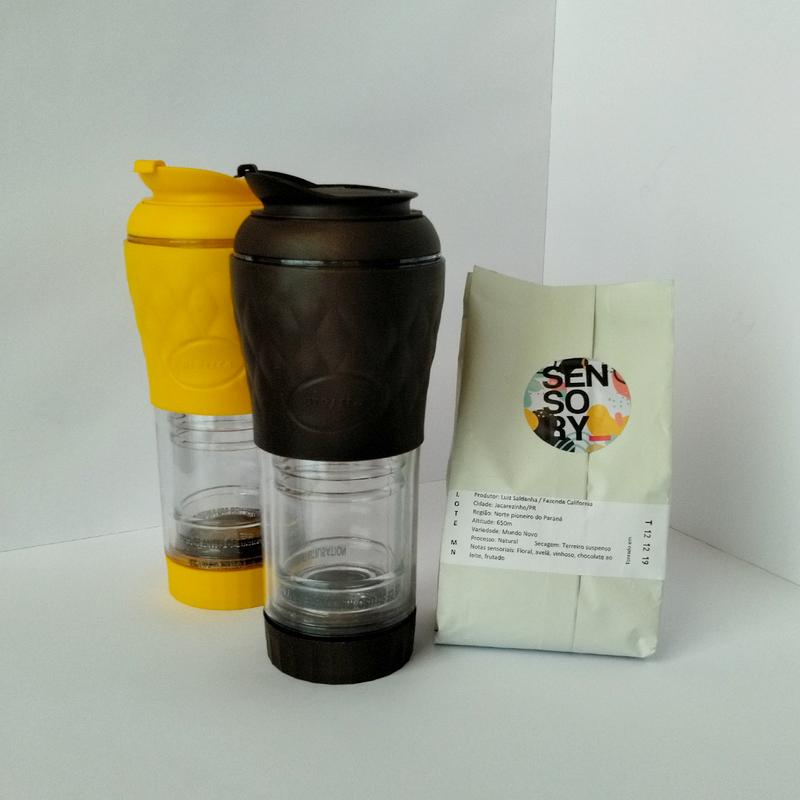 Kit 2 Presscas + Café Sensory